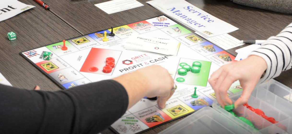 Profit and Cash the game of financial literacy